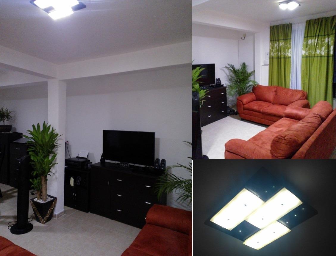 Lampara de techo led 14 moderna luminaria mod magno - Lampara de techo modernas ...