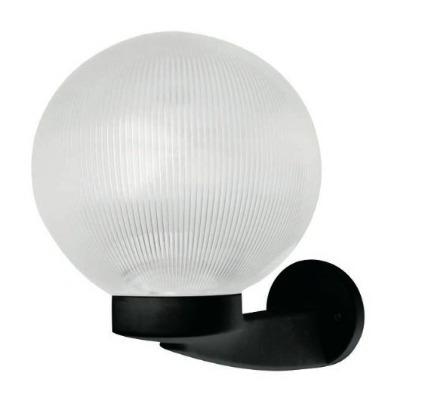 L mpara para exteriores circular con esfera de cristal for Lamparas de exterior para terrazas