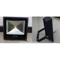 Reflector De Led 50 Watts Ultradelgado Ahorrador 5300 Lumens