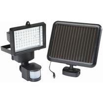 Reflector Solar 60 Leds Lampara Solar Sensor Movimiento Mdn