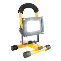 Reflector Portatil 127v / 12v Exterior 10w Ip65 Recargable!