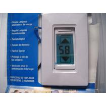Atenuador Digital Dimmer 800w Ahorrador De Energia