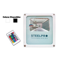 Steelpro Reflector Led Rgb Multicolor 15w,con Control Remoto
