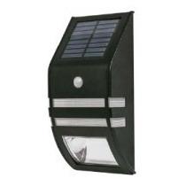 Arbotante Solar Sensor De Movimiento 2 Leds Voltech 46362