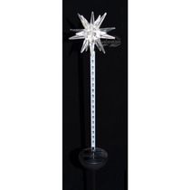 Estrella Decorativa De Led Solar Para Jardín