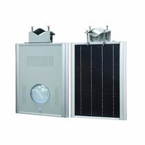 Luminaria Con Panel Solar, Bateria, Alumbrado Ext, Led 20w