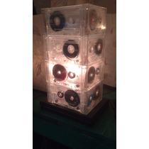 Lampara Reciclada Retro De Cassettes Musicales