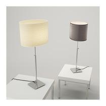 Lampara De Mesa Ajustable Minimalista Ikea Alang Blanca