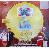 Lampara De Mesa Con Bocina High School Musical Envio Gratis
