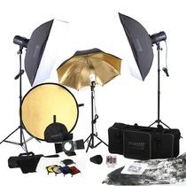 Super Paquete Fotografico Profesional Studio Strobos
