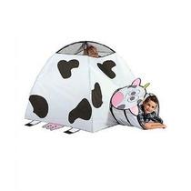 Vaca Infantil Interior / Exterior Juego Carpa Y Túnel