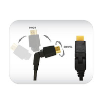 12 Cable Pie Pivotante Hdmi
