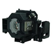 Lámpara Con Carcasa Para Epson Powerlite 83c Proyector