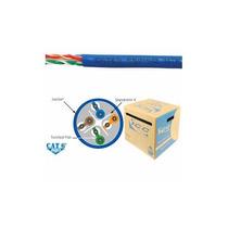 Cat6e Cmr Pvc Cable Azul