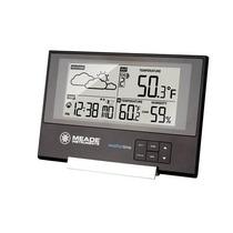Estación De La Línea Delgada Con El Tiempo / Temperatura /
