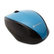 Mouse Verbatim Inalambrico Multi Trac Blue Led Azul 97993