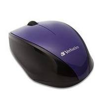 Mouse Verbatim Inalambrico Multi Trac Blue Led Violeta 97994