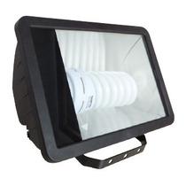 Reflectro 1 Luz 65w Base Pc Negro Y Cristal 31cm X 21cm Tl