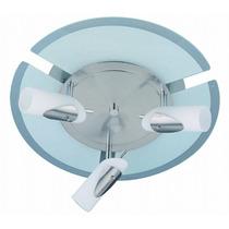Lampara Para Techo - Luminaria Circular De 3 Focos