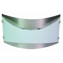 Lámpara Para Pared - Hierro Y Vidrio - Foco J-78 Mm