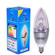 Focos L E D De 3 Watts, E12, 110 V A C, Luz Blanca