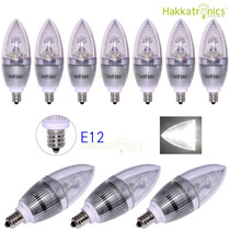 Foco L E D ¨ 3 Watts, E12, 110 V, Luz Blanca