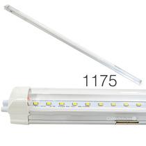 Tubo De Led T8 16w Base Aluminio Luz Blanca O Calida 120cm