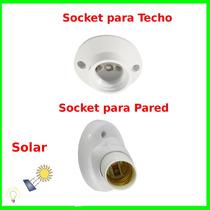 Socket Foco Solar