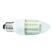 Foco Vela Led De 3w Watts E26 E27. Iluminación Candil Farol