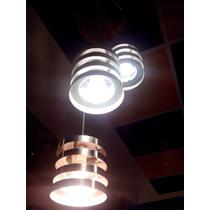 Candil Para Techo De Tres Luces Aluminio
