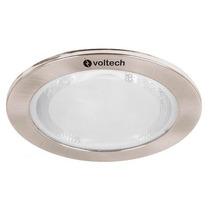 Luminario Empotrable Satin Foco Ahorrador T2 Voltech 46619