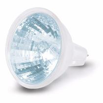 Foco Halogeno Tipo Mr 16 Base Bipin Azul 50 W Voltech 47249