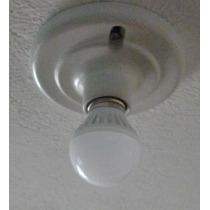 Foco Luz Led 9 W Bulbo Frío Cálido Ahorrador Ecológico Casa