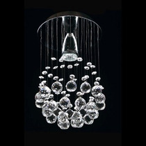Esfera Candiles De Cristal Cortado Iluminación Bonanza