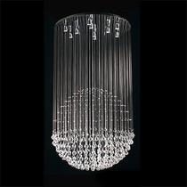 Candil Moderno Monumental Esfera De Cristal 10 Luces Led Gl