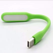 Lampara Portatil Usb Mini Flexible Luz Blanca