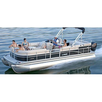 2003 Lowe Pontoon Boat 24 Pies 75 Hp Lancha Party Ponton