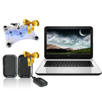 Laptop Hp 14 Amd E1 Dd 500gb, Ram 4gb + Bocinas F-60 Laptops