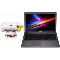 Laptop Asus Core I3 500gb 4gb Dvd Win 8 + Impresora Canon
