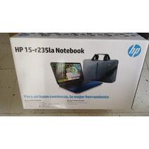 Hp 15-r235la Notebook Con Mochila