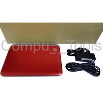 Laptop Hp Mini 210-3018la Roja 2gb Ram 320 Disco Duro