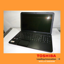 Laptop Toshiba Satellite C855d Amd-e1 Hdd 320gb Mem 4gb 15.6
