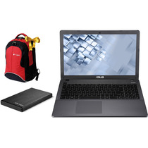 Laptop Asus Core I5 750gb 4gb + Hdd Ext 500gb + Mochila