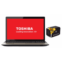 Laptop Toshiba Intel Core I5 1tb 6gb 17.3 Dvd Hdmi + Maletín