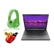 Laptop Lenovo 1tb 8gb Win 7 14 + Diadema + Mouse Laptops