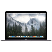 Laptop Apple Macbook 12 Retina 256gb Ram 8gb Space Gray 2015