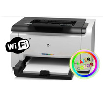 Hp Laser Jet Cp1025nw Color + Kit De Recarga De Toner