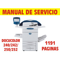 Manual De Servicio Docucolor 240 - 242 - 250 - 252