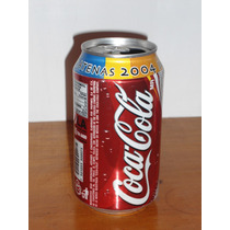 Lata De Coca Cola Promocion Athenas 2004