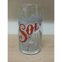 Vaso Cervecero Cerveza Sol 335 Ml. En Forma De Lata